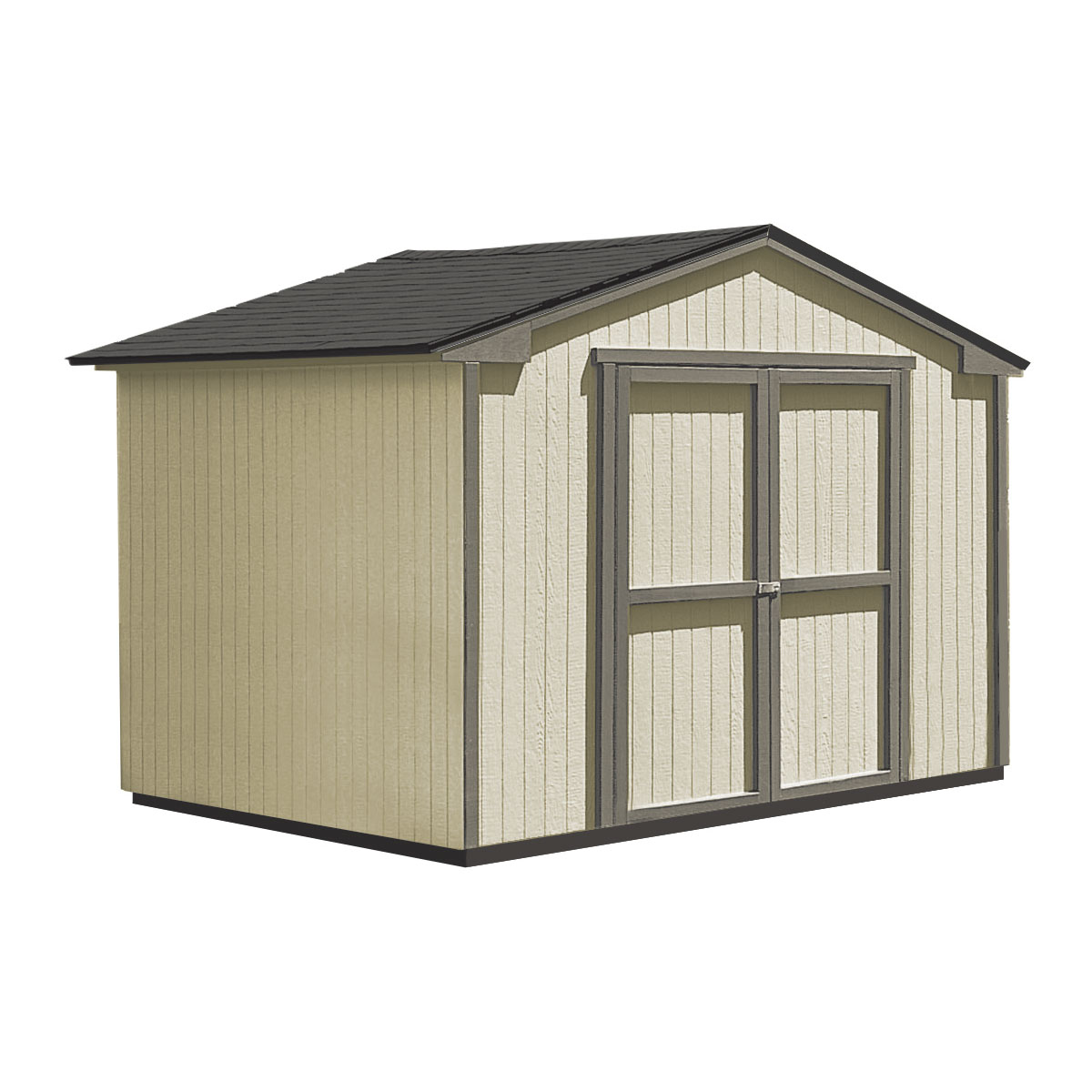 Wood shed for sale lowes storage buildings wooden storage for Garden shed january sale