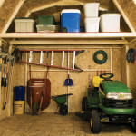 Storage loft provides over 40% additional storage space.
