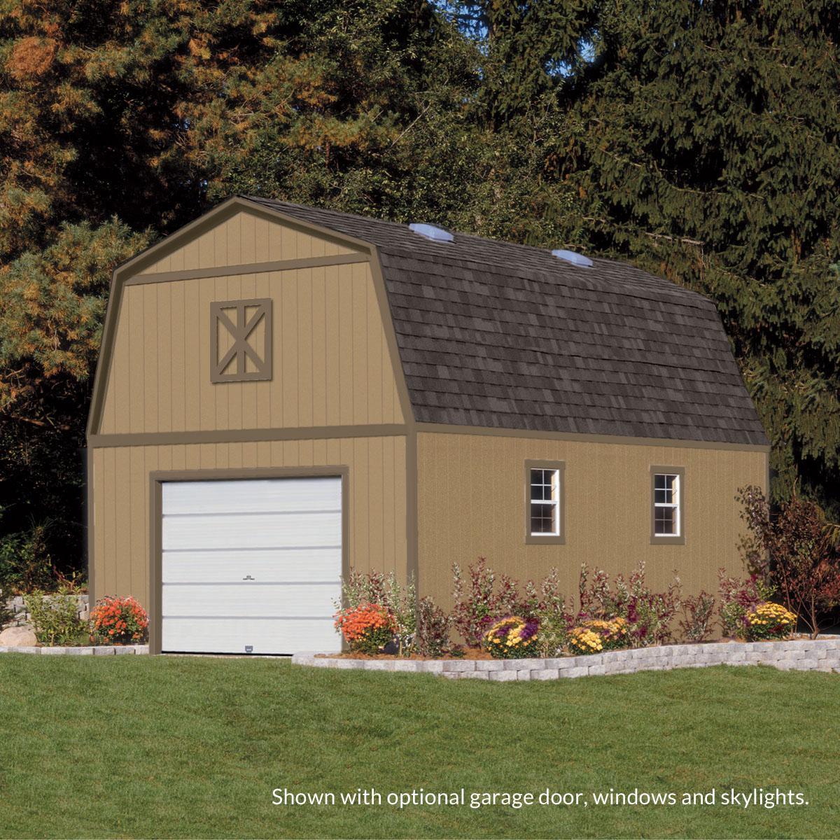 barns storage kits brookfield kit barn shed store by outdoor diy