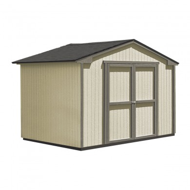 This budget friendly shed includes shingles and professional installation. Image shown: 10'x8' Seneca.