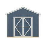 """Extra-wide 64"""" door opening makes it easy to bring tractors, ATV's and lawnmowers in and out."""