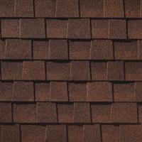 Dark Brown Architectural Shingle Upgrade Backyard