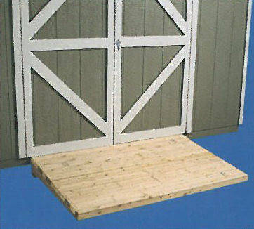Treated Wood Ramp 96