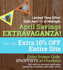 Get an Extra 10% OFF entire site
