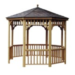 The Brighton gazebo is complimented by a 10-year top-to-bottom warranty.