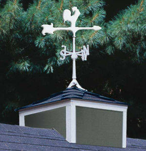Small Cupola & Weathervane Pkg