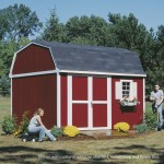 The timeless barn styling will add extra flair to your backyard.
