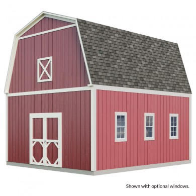 Barn sheds for extra overhead storage gambrel sheds for Gambrel barn prices