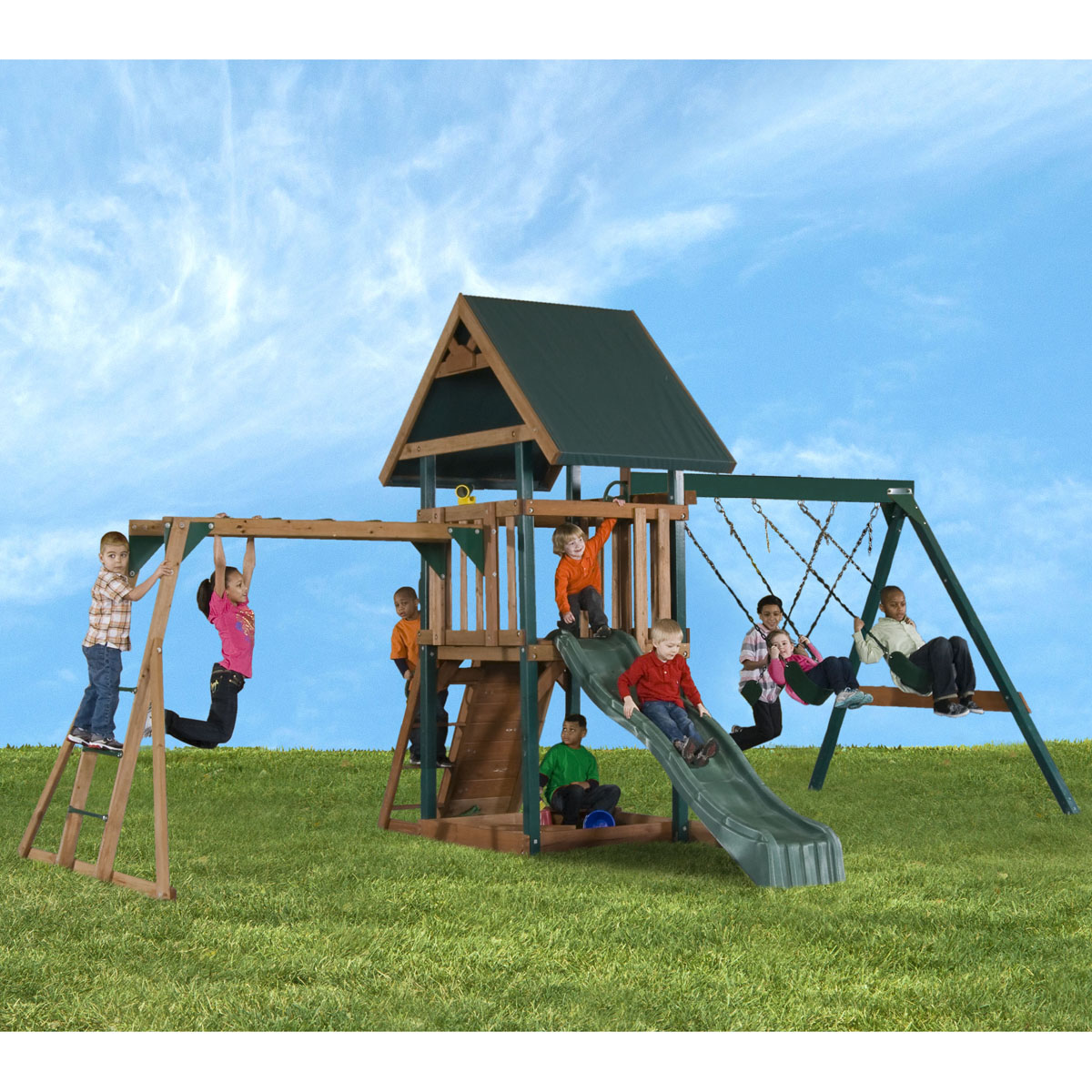 The Mongoose Manor Play Set Comes With All Our Best Loved Elements; From  Monkey