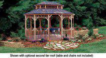 This 10 x 14 gazebo is a wonderful addition to any backyard!