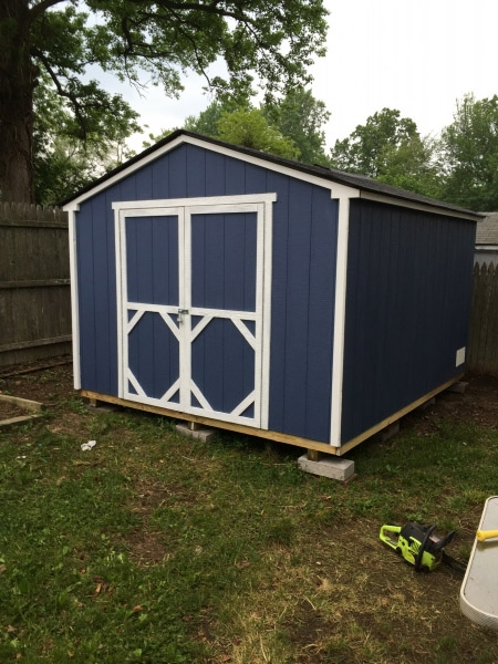 Only Bad Thing About It Is The Cheap Trim On The Shed Doors. Many Of The  Pieces Have Fallen Off And Had To Be Put Back On. I Would Recommend Their  Sheds To ...