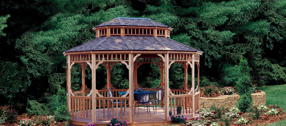 The Coronado Gazebo by Backyard Buildings