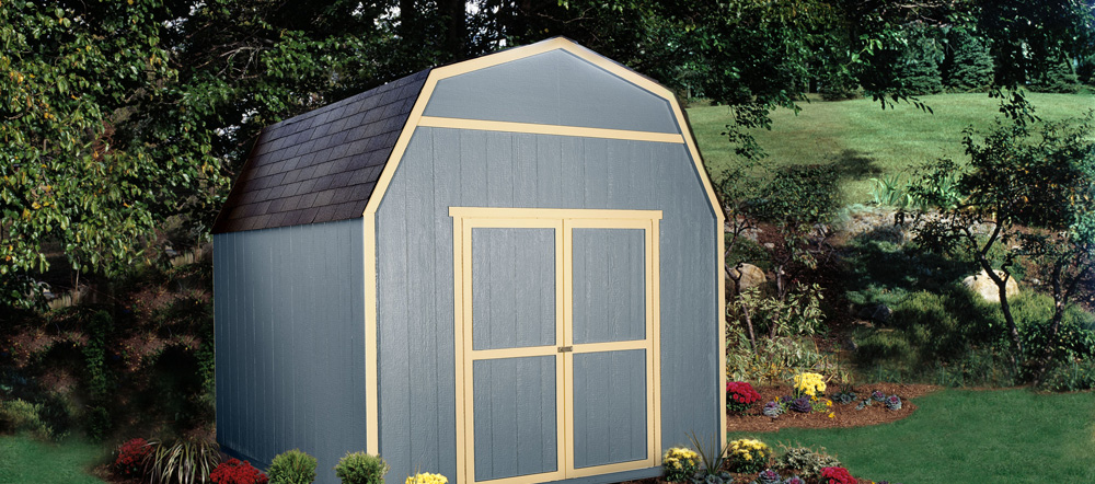 The Verona Shed by Backyard Buildings